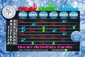 Activitat de Cardio Dirigides