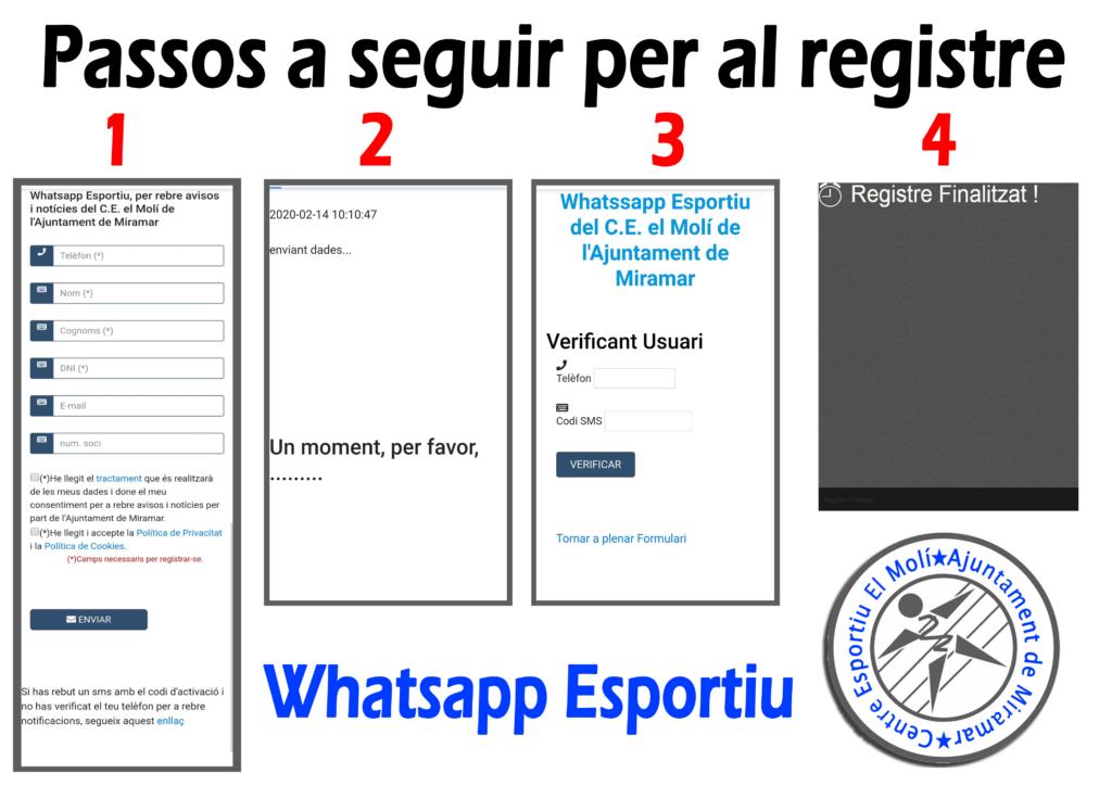 whatsapp esportiu